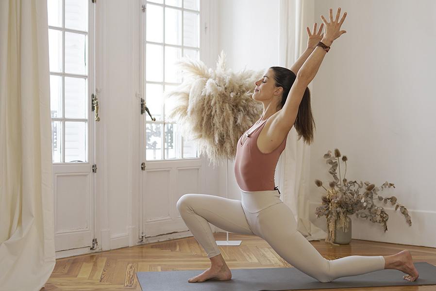 Clases de yoga y meditación online con Cristina Madrid